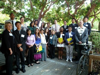 Diablo Valley College Students at Career Connections Day 2012